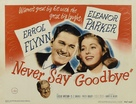 Never Say Goodbye - Movie Poster (xs thumbnail)