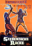 Le sette sfide - German Movie Poster (xs thumbnail)