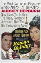 Roman Holiday - Re-release poster (xs thumbnail)