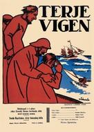 Terje Vigen - Swedish Movie Poster (xs thumbnail)