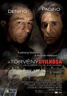 Righteous Kill - Hungarian Movie Poster (xs thumbnail)