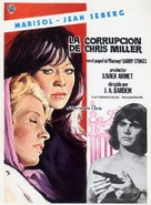 Corrupción de Chris Miller, La - Spanish Movie Poster (xs thumbnail)