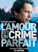 L'amour est un crime parfait - French Movie Poster (xs thumbnail)