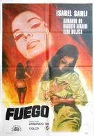 Fuego - Spanish Movie Poster (xs thumbnail)