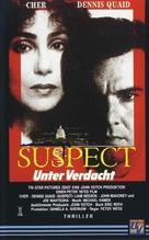 Suspect - German VHS movie cover (xs thumbnail)