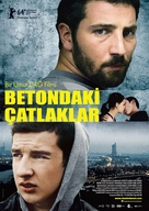 Risse im Beton - Turkish Movie Poster (xs thumbnail)