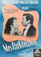 Mrs. Parkington - Danish Movie Poster (xs thumbnail)