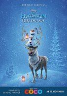 Olaf's Frozen Adventure - German Movie Poster (xs thumbnail)