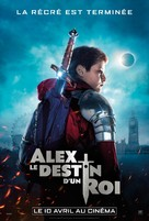 The Kid Who Would Be King - French Movie Poster (xs thumbnail)