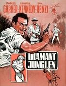 The Pink Jungle - Danish Movie Poster (xs thumbnail)