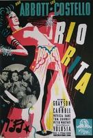 Rio Rita - Swedish Movie Poster (xs thumbnail)