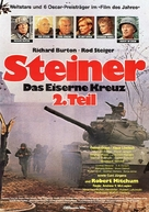 Steiner - Das eiserne Kreuz, 2. Teil - German Movie Poster (xs thumbnail)