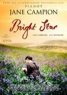 Bright Star - Swedish Movie Poster (xs thumbnail)