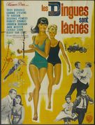 Palm Springs Weekend - French Movie Poster (xs thumbnail)