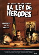 Ley de Herodes, La - Mexican Movie Cover (xs thumbnail)