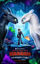 How to Train Your Dragon: The Hidden World - South African Movie Poster (xs thumbnail)