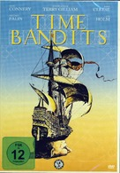 Time Bandits - German DVD cover (xs thumbnail)