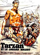 Tarzan and the Great River - French Movie Poster (xs thumbnail)