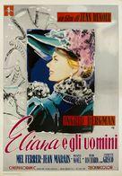 Elena et les hommes - Italian Movie Poster (xs thumbnail)