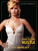 American Hustle - French Movie Poster (xs thumbnail)