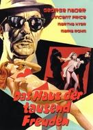 La casa de las mil muñecas - German DVD movie cover (xs thumbnail)