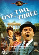One, Two, Three - Australian DVD movie cover (xs thumbnail)