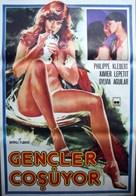 Belles, blondes et bronzées - Turkish Movie Poster (xs thumbnail)