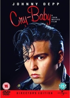 Cry-Baby - British DVD cover (xs thumbnail)