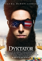 The Dictator - Polish Movie Poster (xs thumbnail)