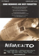 Memento - South Korean Movie Poster (xs thumbnail)