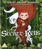The Secret of Kells - British Blu-Ray cover (xs thumbnail)