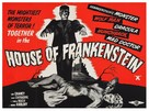 House of Frankenstein - British Re-release poster (xs thumbnail)