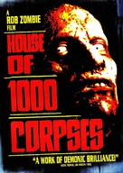 House of 1000 Corpses - DVD cover (xs thumbnail)