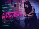 Appropriate Behavior - British Movie Poster (xs thumbnail)