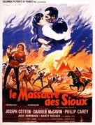 The Great Sioux Massacre - French Movie Poster (xs thumbnail)