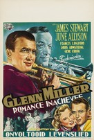 The Glenn Miller Story - Belgian Movie Poster (xs thumbnail)