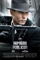 Public Enemies - Brazilian Movie Poster (xs thumbnail)