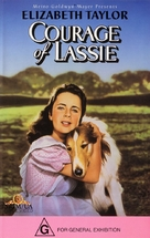 Courage of Lassie - Australian Movie Cover (xs thumbnail)
