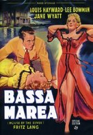 House by the River - Italian DVD cover (xs thumbnail)