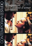 L'important c'est d'aimer - French Movie Cover (xs thumbnail)