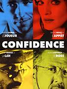 Confidence - French DVD movie cover (xs thumbnail)