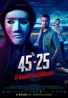 45 25: #KusursuzCinayet - Turkish Movie Poster (xs thumbnail)