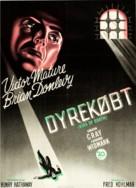 Kiss of Death - Danish Movie Poster (xs thumbnail)