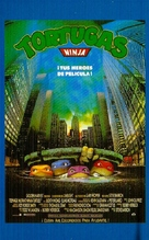 Teenage Mutant Ninja Turtles - Spanish VHS movie cover (xs thumbnail)