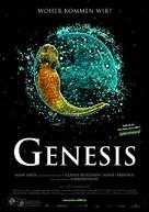 Genesis - German Movie Poster (xs thumbnail)