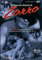 Les aventures galantes de Zorro - French Movie Cover (xs thumbnail)