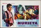 Joaquín Murrieta - Belgian Movie Poster (xs thumbnail)