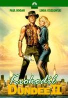 Crocodile Dundee II - Hungarian DVD movie cover (xs thumbnail)