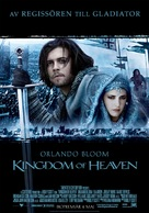 Kingdom of Heaven - Swedish poster (xs thumbnail)