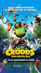 The Croods: A New Age - Spanish Movie Poster (xs thumbnail)